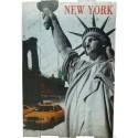 pannello targa in legno NEW YORK ARREDO PUB BAR BIRRERIA