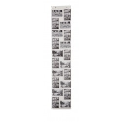 Album Foto a Parete Raccoglitore espositore foto a muro 20 posti cm 140
