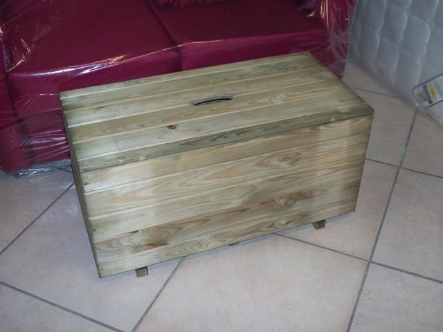 Panca Contenitore Legno : Baule cassa per legna coperchio cassapanca camino in legno grezzo
