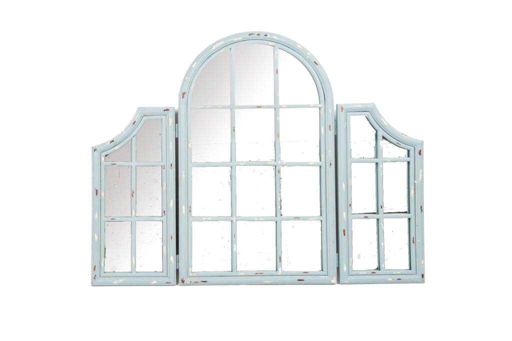 Specchio Finestra Specchiera Arredo Bagno Camera Stile Inglese