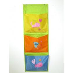tasca pannello portaoggetti a parete bagno cameretta cucina