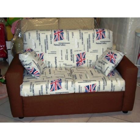 DIVANO sofa\'2 POSTI DIVANETTO imbottito POLTRONA RELAX soggiorno cucina  cameretta