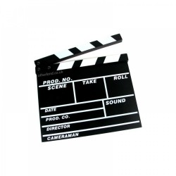 CIAK CINEMA PANNELLO PER SCENEGGIATURE FILM REGISTA TEATRO RIPRESE AMATORIALI