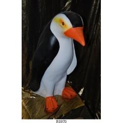 Pinguino in resina per arredamento negozi casa