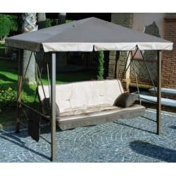 dondolo pagota da giardino reclinabile letto