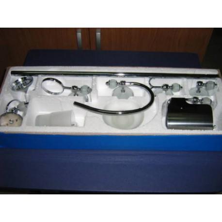 Mobili Bagno In Kit.Accessori Bagno In Acciaio Mobile Bagno Kit Set Portasapone