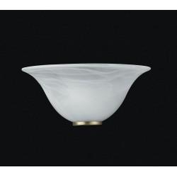 APPLIQUE PARETE LAMPADA IN VETRO MURO LAMPADARIO DESIGN APPLIQUES 1 LUCE