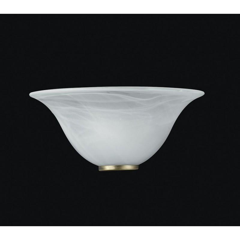 Campane Vetro Per Lampadari.Applique Parete Lampada In Vetro Muro Lampadario Design Appliques 1
