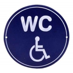 TARGA LATTA INSEGNA BAGNO toilette WC  RISTORANTE BAR  TARGHE LATTA TARGHETTA