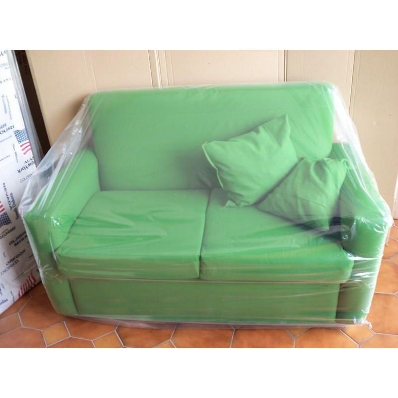 Divano 2 posti divanetto tessuto sofà in tessuto due posti poltrona ...