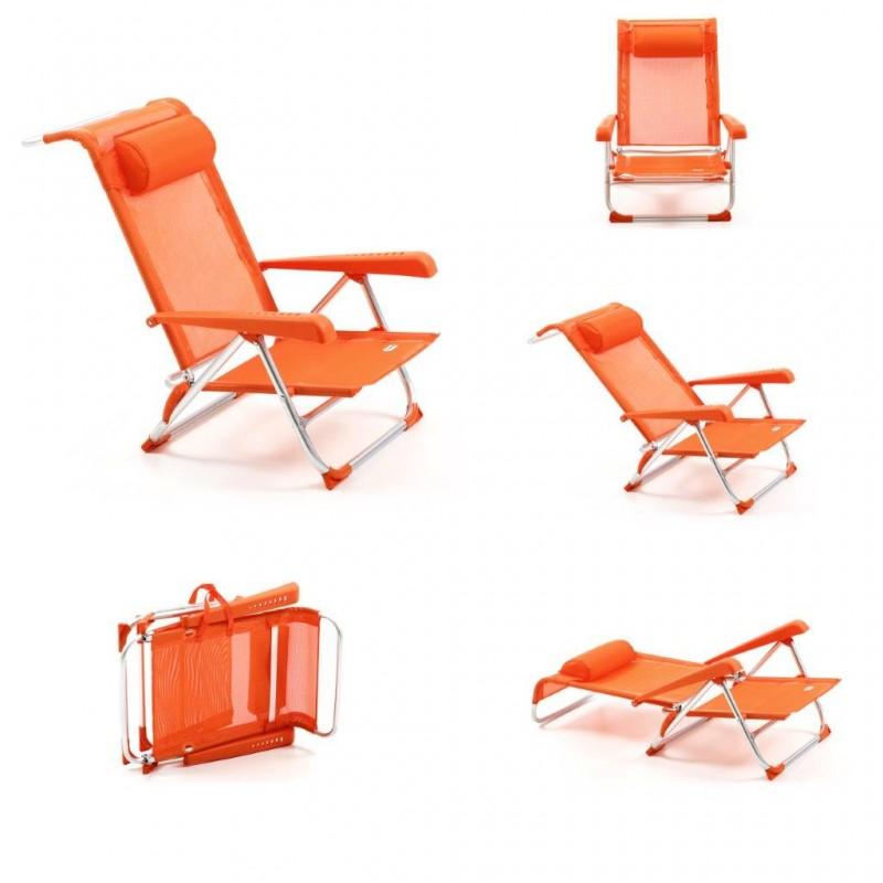 Sedie A Sdraio Per Spiaggia.Spiaggina Mare Spiaggina Alluminio Lettino Mare Sdraio Sedia Mare