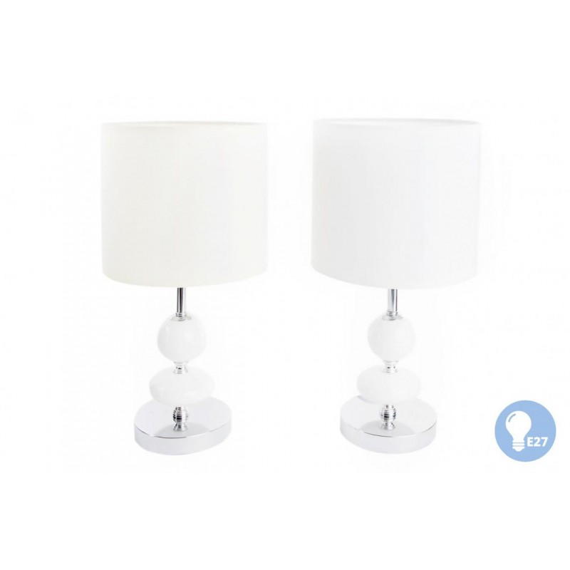 LAMPADA DA TAVOLO LUME DA COMODINO MODERNO ABAT JOUR LAMPADA DESIGN