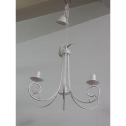 LAMPADARIO IN FERRO BATTUTO lampadario SOSPENSIONE soffitto lampada muro SHABBY