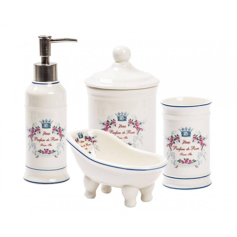 Mobili Bagno In Kit.Accessori Bagno In Ceramica Set Bagno Kit Appoggio Mobile Arredo