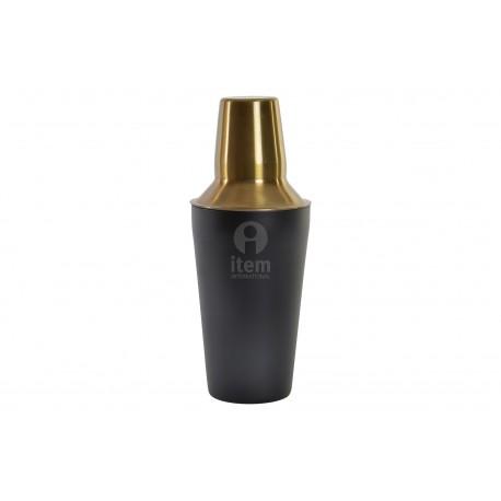 shaker inox nero 500ml miscelatore per cocktail