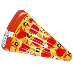 MATERASSO MARE PIZZA GONFIABILE A FORMA DI SPICCHIO DI PIZZA
