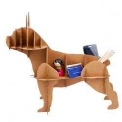 Bulldog Modellino in cartone ecologico resistente 5 mm libreria per arredo came