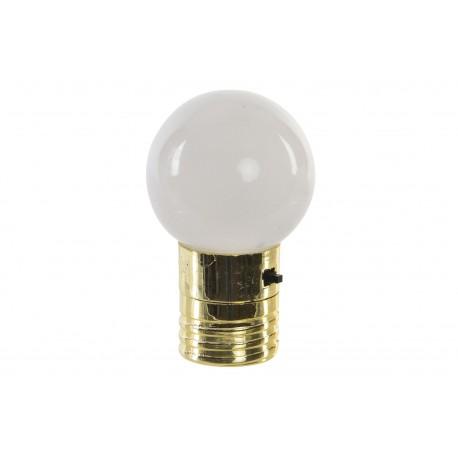 LAMPADINA A LED CON CALAMITA SET 3 PEZZI CON INTERRUTTORE LAMPADA CON MAGNETE