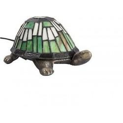 LAMPADA DESIGN TARTARUGA LAMPADA DA TAVOLO COMODINO BRONZO E VETRO